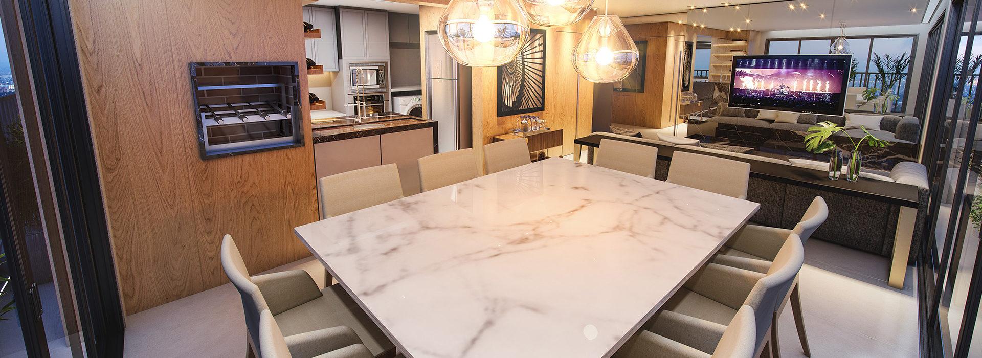 Living Apartamento 150 m²